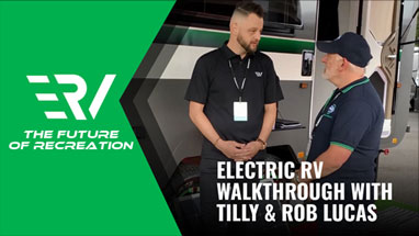 electric rv walkthrough with tilly and rob lucas